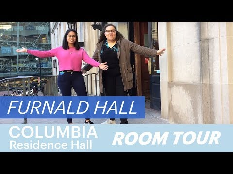 Furnald Hall Room Tour | Columbia University