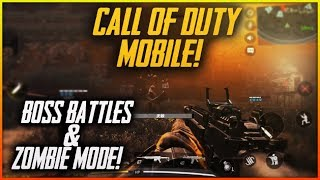 Call of Duty MOBILE BETA - Boss Fights, Zombie Mode, Gameplay from HIJACKED / NUKETOWN / STANDOFF
