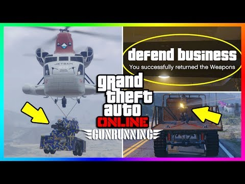 Make 15 THINGS YOU PROBABLY DON'T KNOW ABOUT THE GTA ONLINE GUNRUNNING DLC! (GTA 5 DLC) Pictures