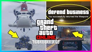 15 THINGS YOU PROBABLY DON'T KNOW ABOUT THE GTA ONLINE GUNRUNNING DLC! (GTA 5 DLC)