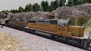 Train Simulator 2013 Game Play EMD SD40-2 Deliveries To Monument Full Senerio HD