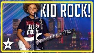 Kid Guitarist ROCKS The Stage on Spain's Got Talent 2019   Kids Got Talent