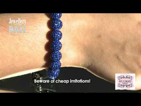 Czech Crystal Ball Bracelets With Hematite