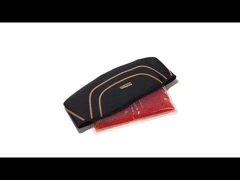 4ef04ace9d Copper Fit Back Pro Back Support Belt with Gel Pack - YouTube