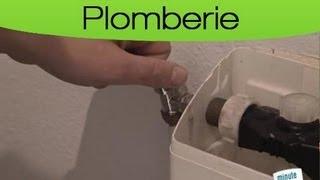 Régler le problème d'une fuite dans un WC ?