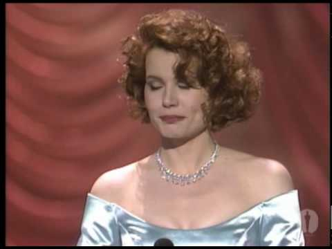 Geena Davis Wins Supporting Actress: 1989 Oscars