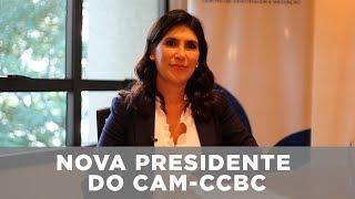 Eleonora Coelho - Nova presidente do CAM-CCBC