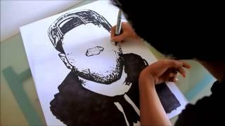Speed Drawing Jason Derulo