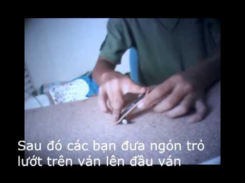 Hướng dẫn Teck Deck Việt Nam - Ollie