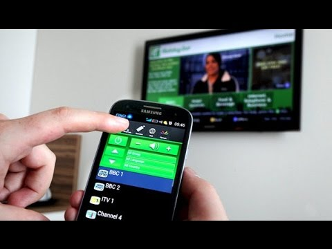 How To Use Your Samsung Galaxy Phone As A Tv Remote Youtube