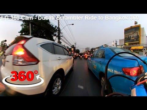 LG 360 Cam - Ducati Scrambler Ride to Bangkok 360 video