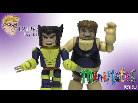Uncanny X-Men Minimates - Strike Force Wolverine And Blob (& Forge) Review