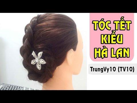 Hướng dẫn thắt bím tóc kiểu Hà Lan | TrungVy10 (TV10)