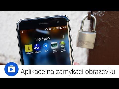 Aplikace na zamykací obrazovku (Top Apps)