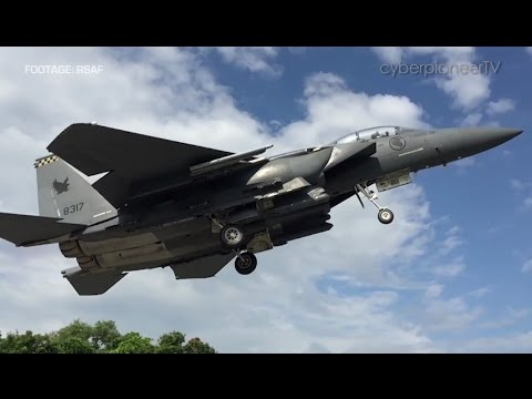 LAUNCH & RECOVERY - The Republic of Singapore Air Force's Exercise Torrent 2016