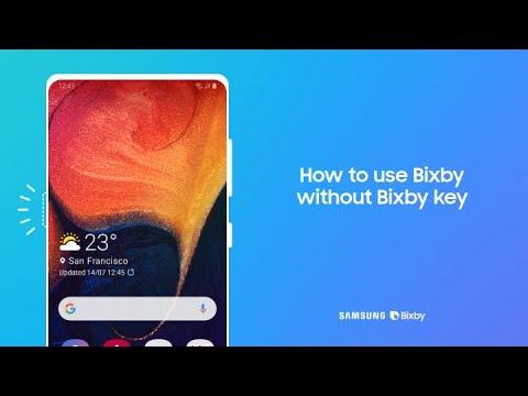 Bixby: How to use Bixby without Bixby key