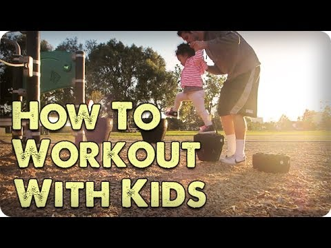 HOW TO WORKOUT WITH KIDS | DADventures: The Nive Nulls