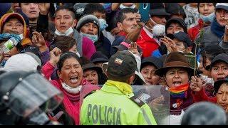 🔴ESTO NUNCA LO VERÁS EN LOS MEDIOS ECUATORIANOS así dimos la bienvenida a los Indígenas en Quito