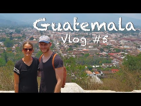 Travel VLOG 5 | Flores and Antigua, Guatemala | Incredible Mayan Ruins of Tikal