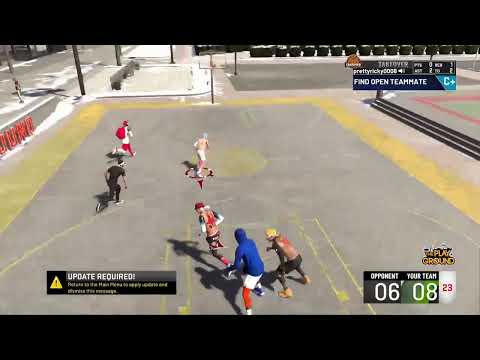 NBA 2K20 Streaking with randomsOFFENSIVE THREAT