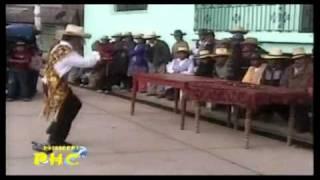 Laramarca - Huancavelica: Presentacion de las comparsas de navidad ante las autoridades