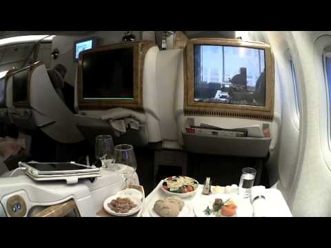 EMIRATES EK78 NICE DUBAI BUSINESS CLASS B777 300 15 10 13