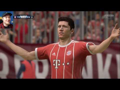 "RONALDO czy LEWANDOWSKI? FIFA 18 | REAL VS BAYERN | ""POJEDYNKI ONLINE"" HOGATY VS SYLO #04"