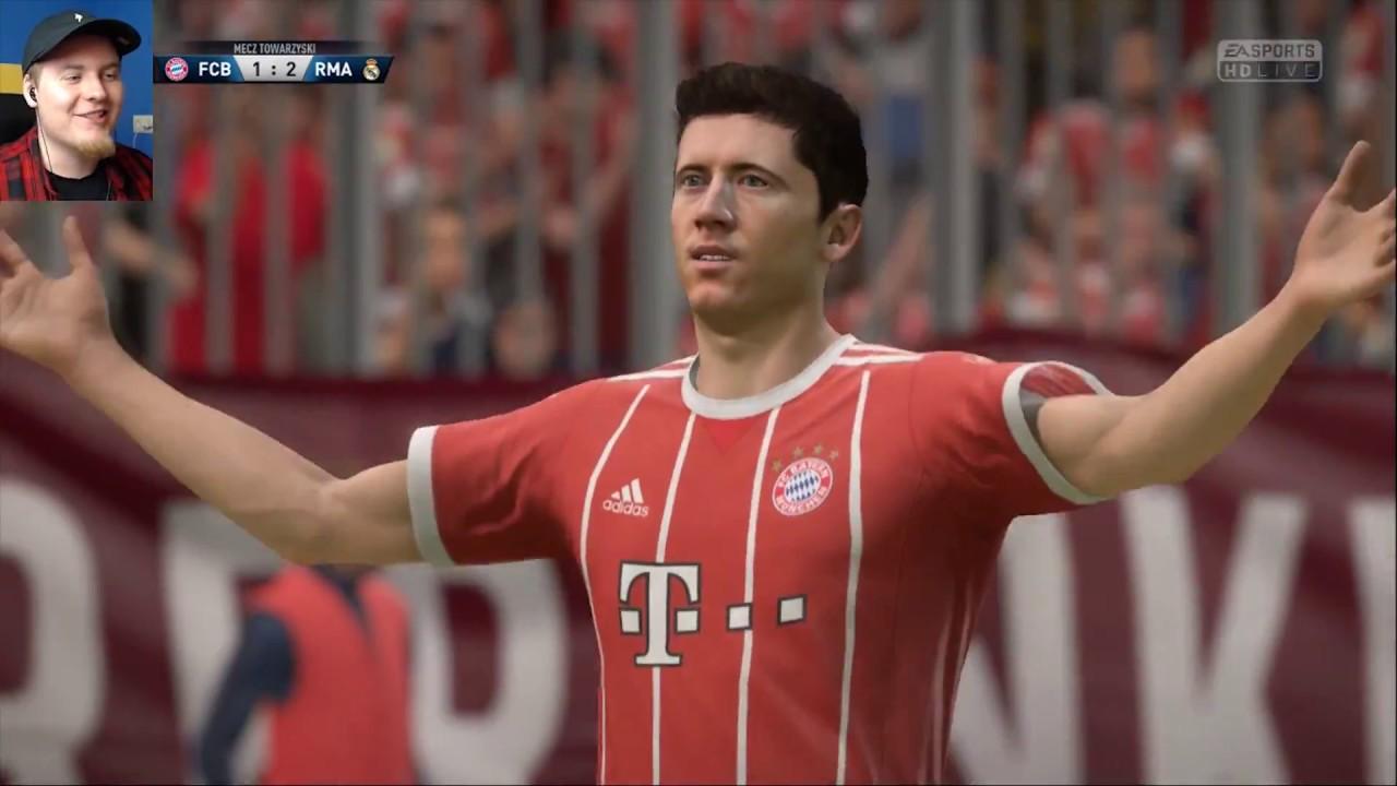 "RONALDO czy LEWANDOWSKI? FIFA 18   REAL VS BAYERN   ""POJEDYNKI ONLINE"" HOGATY VS SYLO #04"
