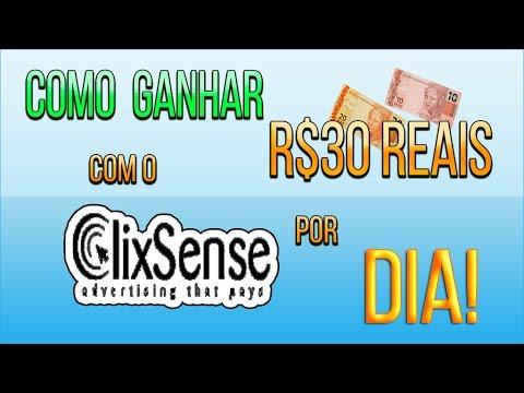 Como Ganhar R$30 Reais Por Dia No ClixSense! /Provas De Pagamento/ 2015/