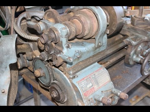 Getting An Old Lathe Running and General Maintenance South Bend, Logan, Craftsman