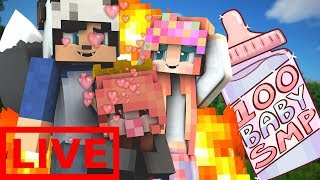 LIVE QNA WITH OUR KIDS | 100 BABY LIVE | EP. 2 (Minecraft 100 BABY CHALLENGE W/ My Girlfriend)