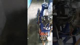 How to convert bike engine into || air compressor || car & bike washing.