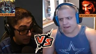 Tyler1 1v1 Trick2G Against His Nasus | Scarra's Lee Sin | Imaqtpie Reacts To Riot Video |LoL Moments