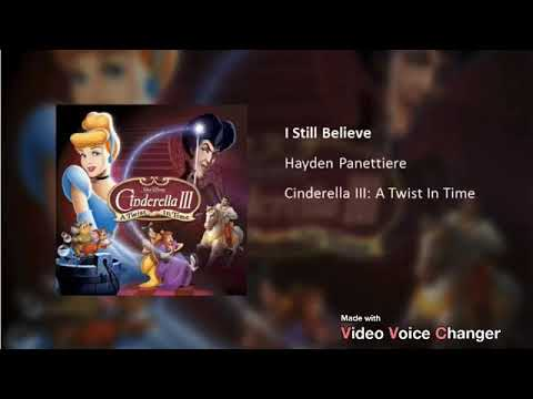 """Download I Still Believe (From """"Cinderella III: A Twist In Time"""") Male Version"""