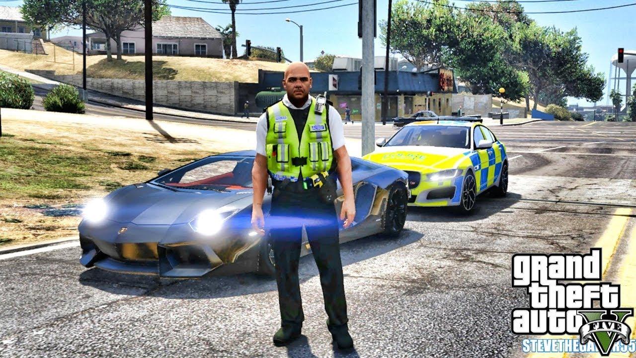 Watch GTA 5 MODS LSPDFR 1081 - BRITISH PATROL!!! (GTA 5 REAL LIFE PC