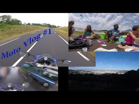 Moto Vlog #1 Lac Chambon - Chateau de Murol - Puy de Dôme \GregSVS650/