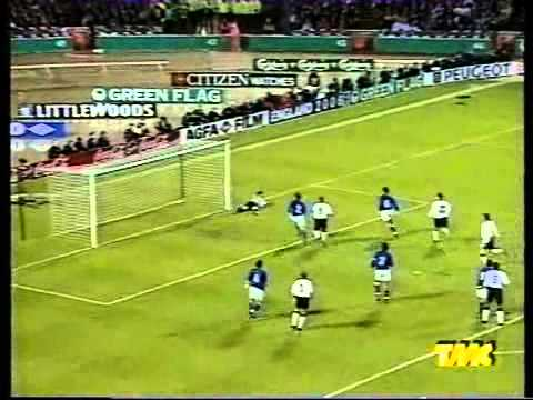 World Cup 1998 Qualification: England x Italy