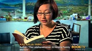 "Repeat youtube video C-SPAN Cities Tour - Saint Paul: ""The Latehomecomer: A Hmong Family Memoir"" by Kao Kalia Yang"