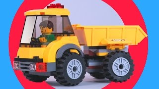 Video & Cartoon For Kids. Car Animation Assembly - Lego City 60076 Demolition Site