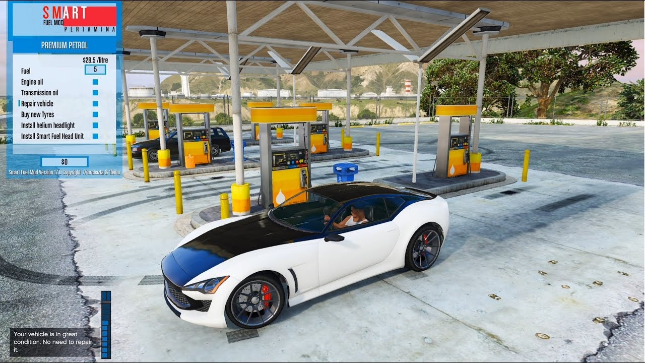 Gta 5 Smart Fuel Mod