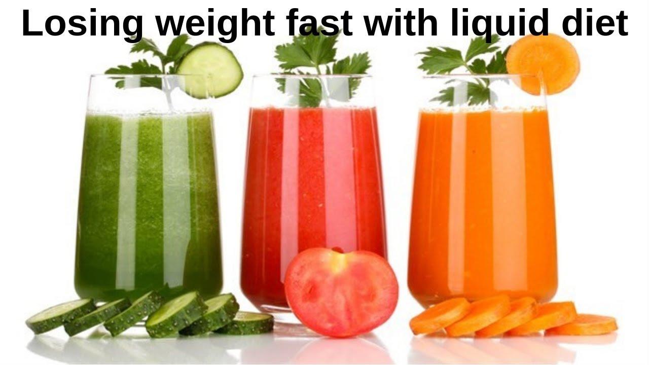 most weight lost on liquid diet