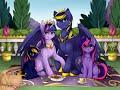 MLP  Zephyr and Twilight