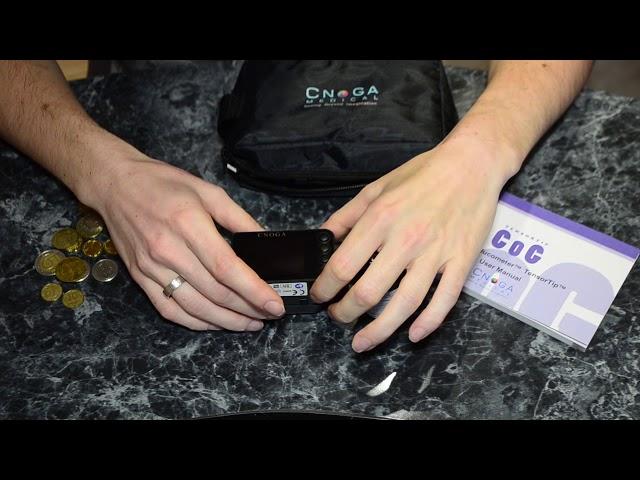 Cnoga Medical TensorTip Combo Glucometer (CoG) - неинвазивный глюкометр, 2 часть