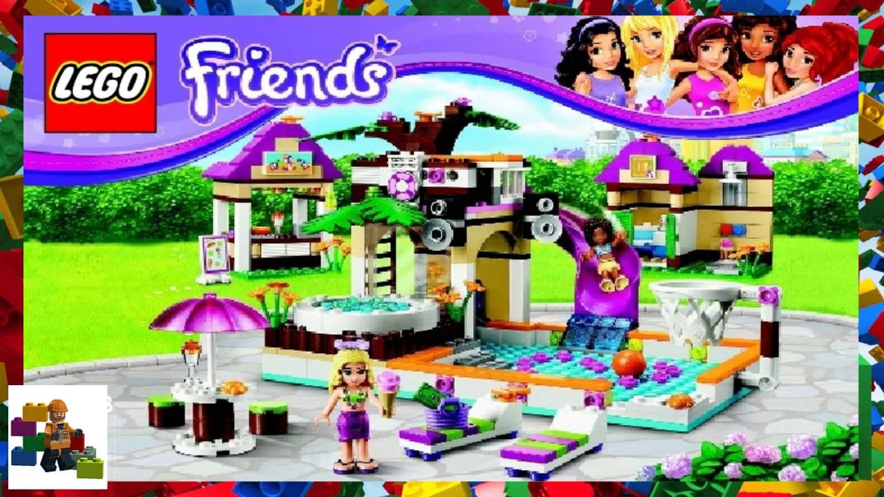 41008 Heartlake Zwembad Lego Instructions Lego Friends 41008 Heartlake City Pool Book 1