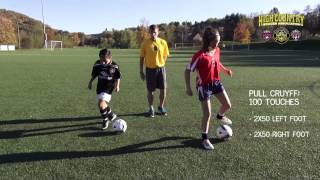 1,000 Touch Soccer Training
