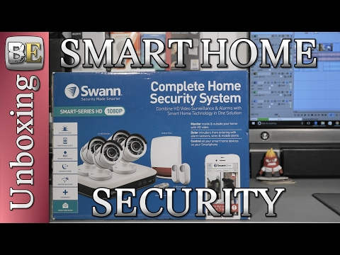 Smart Home Security -  Swann Smart Series HD Camera System