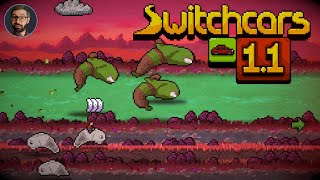 Switchcars Review   Slug dodging arcade driver (Video Game Video Review)