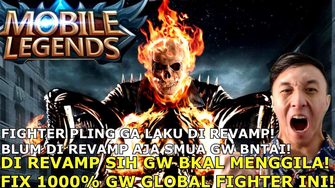 FIGHTER PLING DIHINA INI BAKAL DI REVAMP! FIX TANPA DEBAT GW BAKAL JADI GLOBAL 1 HERO INI!