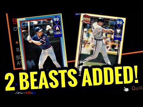 99 RYNE SANDBERG & 99 CAL RIPKEN JR JOIN THE SQUAD!! MLB The Show 17 Diamond Dynasty