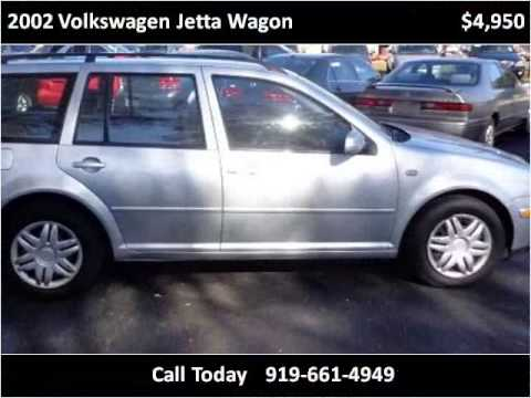 2002 Volkswagen Jetta Wagon Used Cars Raleigh NC